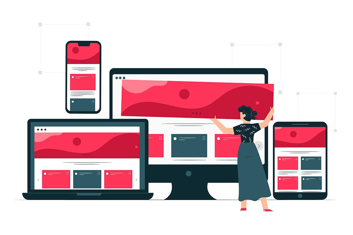 Être visible sur internet - Création de site internet responsive