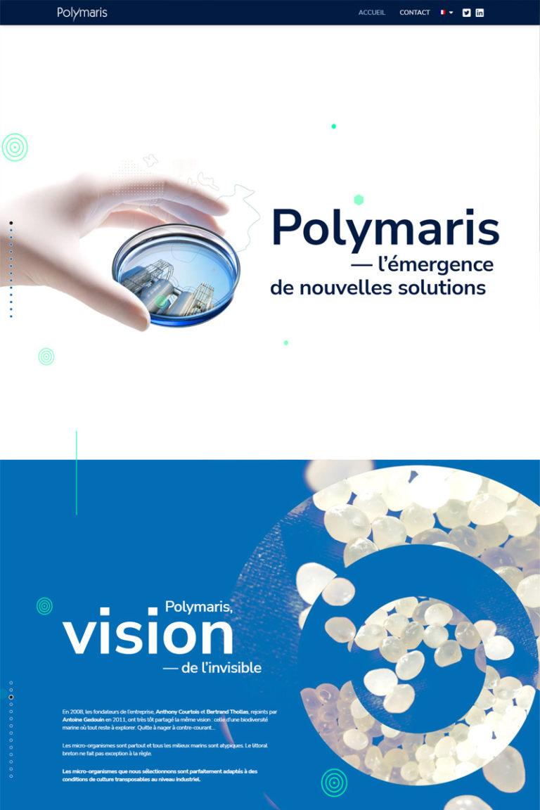 Développement du site internet Polymaris